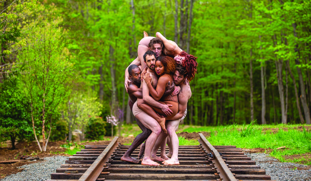 Pilobolus: Come to your senses.