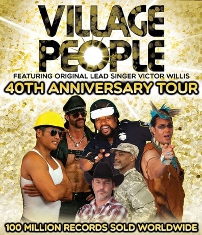 Village People: 40th Anniversary Tour