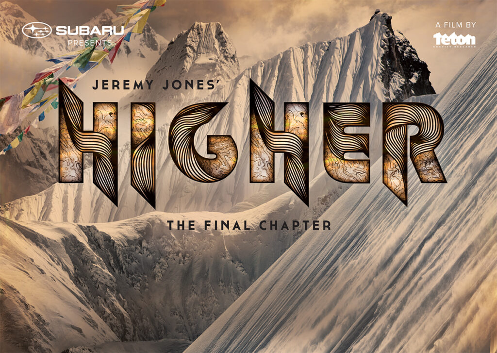Teton Gravity Research Films: Jeremy Jones' Higher
