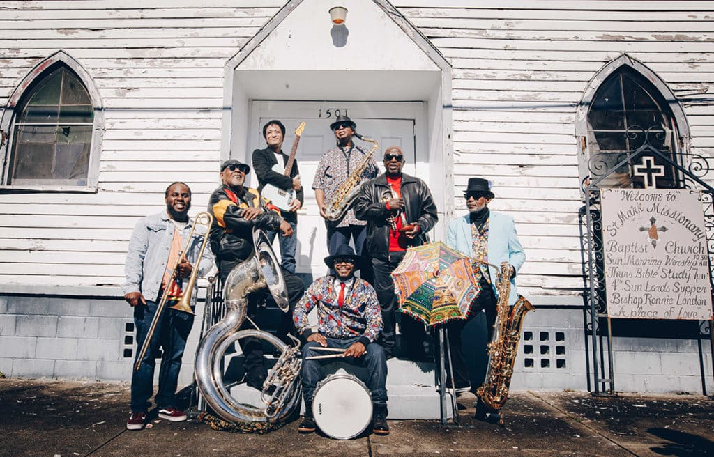 Mardi Gras Mambo Featuring The Dirty Dozen Brass Band and Nathan and the Zydeco Cha Cha's